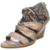 botkier Snake Skin Print Wedge Sandal